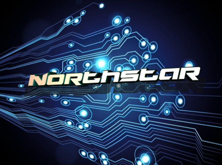 Northstar Font screenshot design