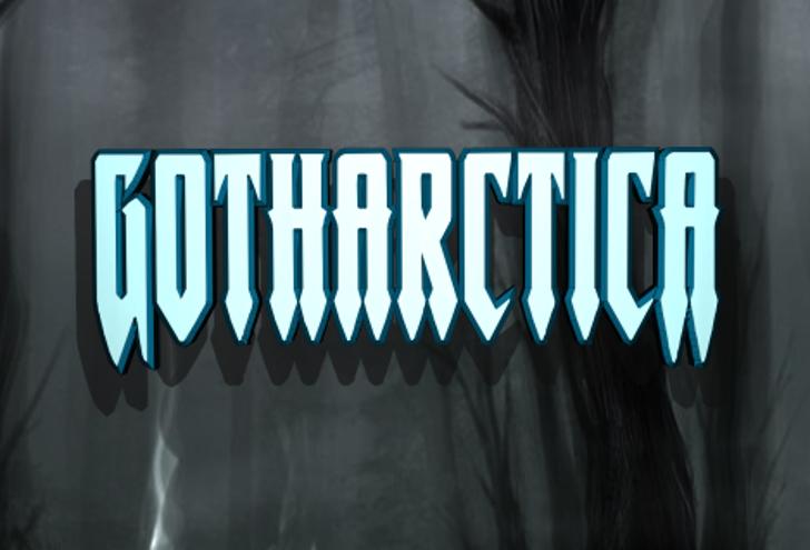 Gotharctica Font screenshot graphic