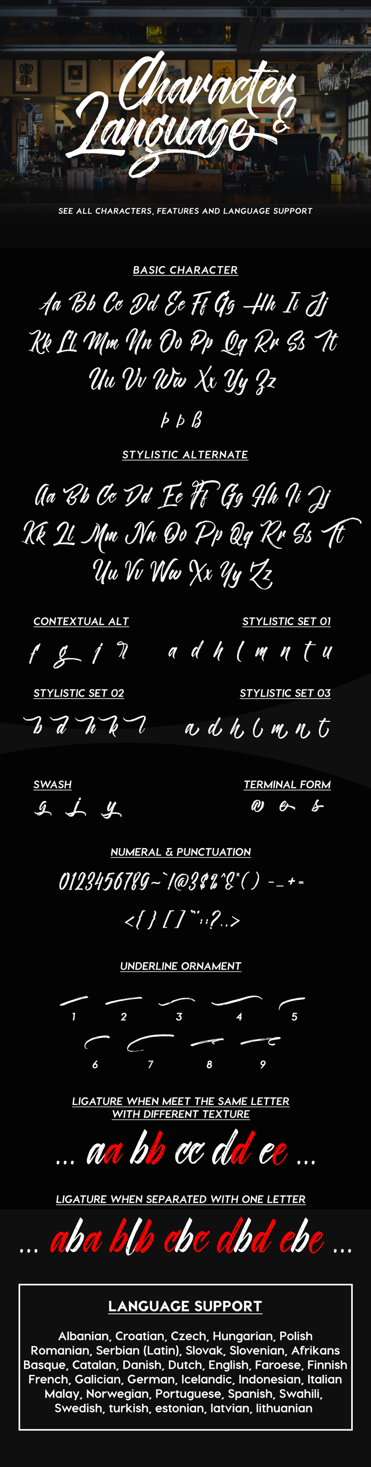 Novitha ScriptDemo Font text screenshot