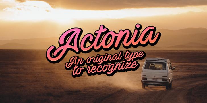 Actonia Hand PERSONAL USE Font land vehicle vehicle