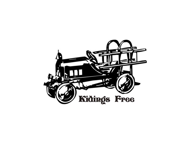 KidingsFree Font cart sketch
