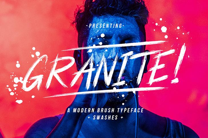 Granite Font book text