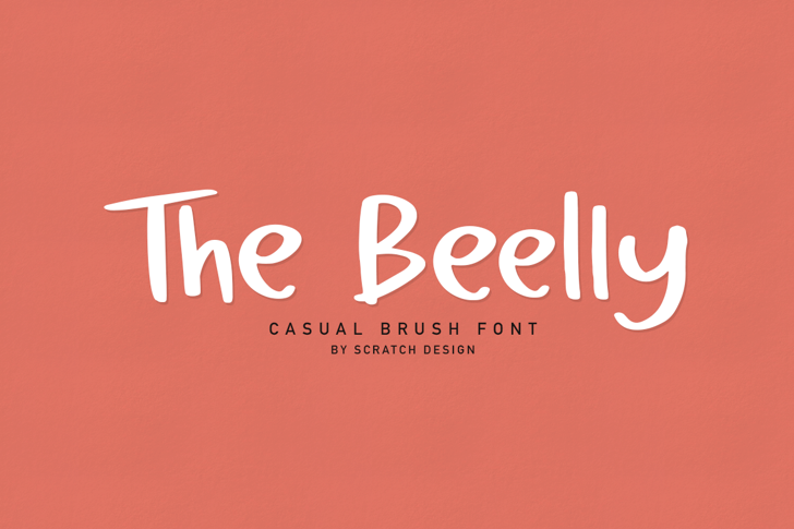 The Beelly Font text