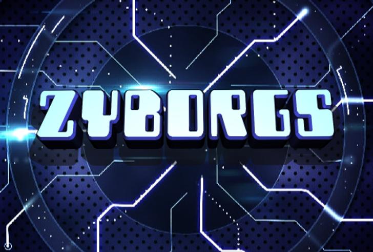 Zyborgs Font screenshot design