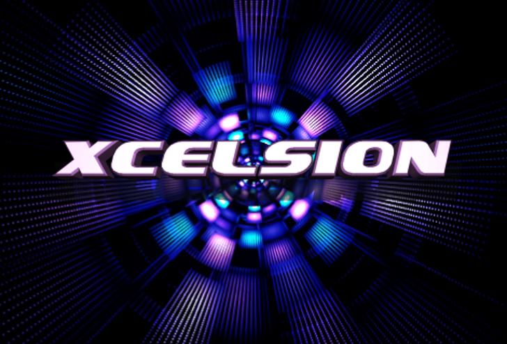 Xcelsion Font screenshot abstract