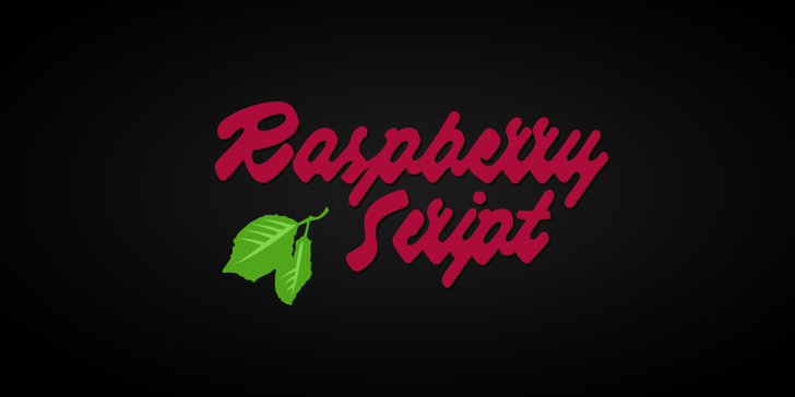 Raspberry Script PERSONAL USE Font design graphic