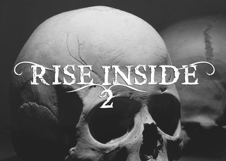 Rise InsidE Font cow skull