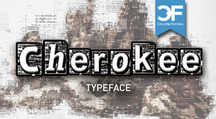 CF Cherokee Font text screenshot