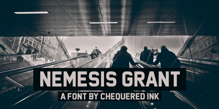 Nemesis Grant Font screenshot
