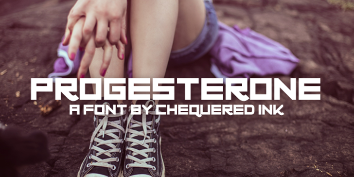 Progesterone Font person ground