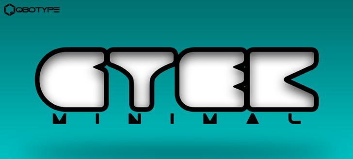 Gtek Minimal  Font screenshot design