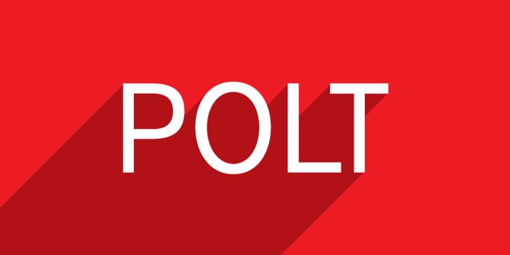 Polt Font design screenshot