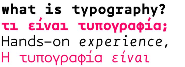 BPmono Font font graphic