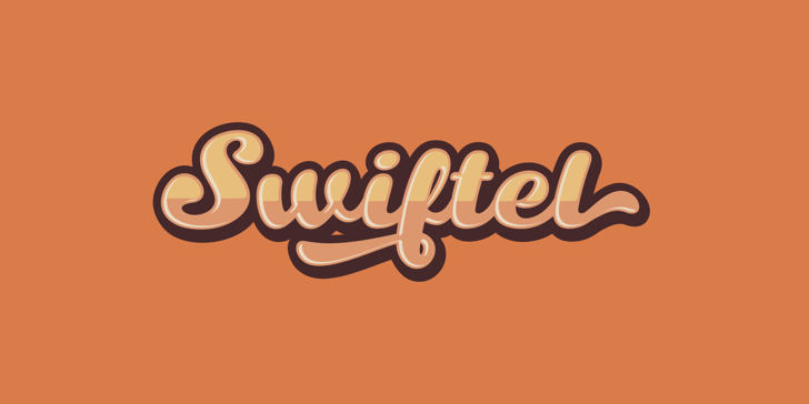 Swiftel Base DEMO Font design typography