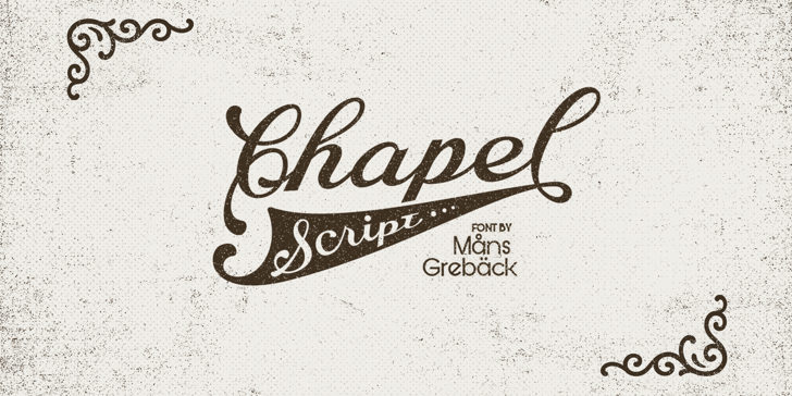Chapel Script PERSONAL USE Font handwriting typography