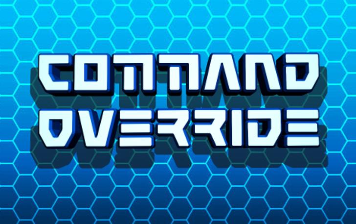 Command Override Font screenshot design