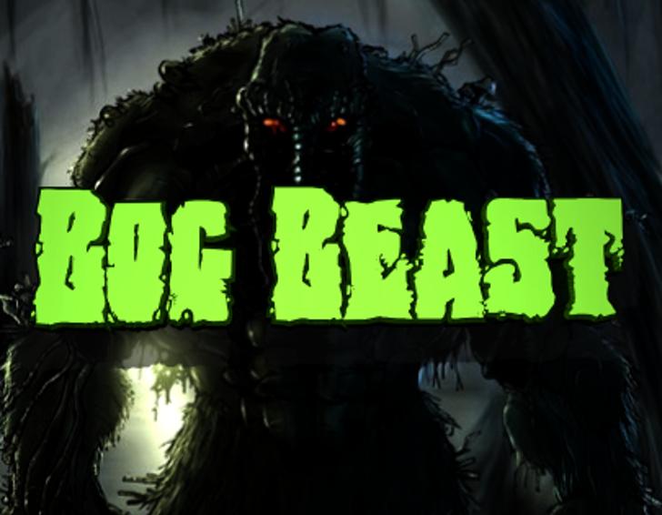 Bog Beast Font cartoon dark