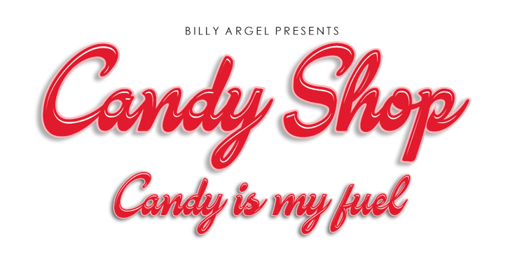 Candy Shop Personal Use Font design typography