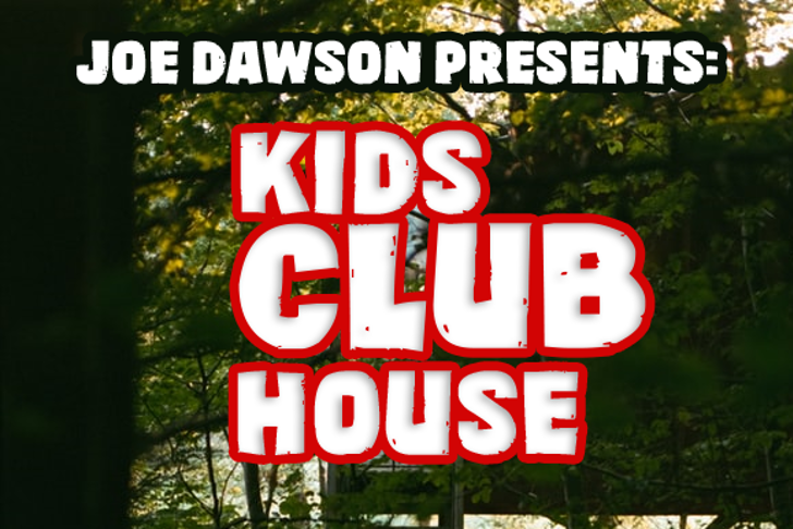 Kids Club House Font poster