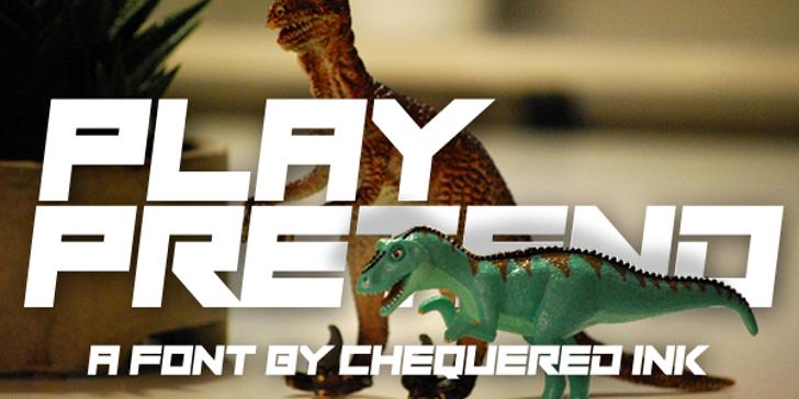 Play Pretend Font animal indoor