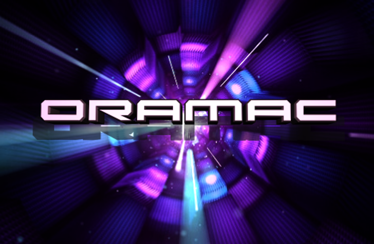 Oramac Font screenshot purple