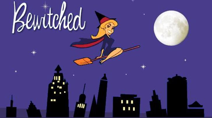 Witched Font cartoon poster