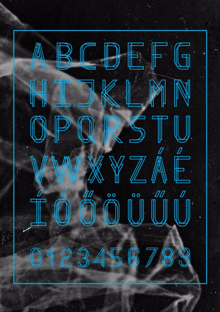 Finity Font poster screenshot