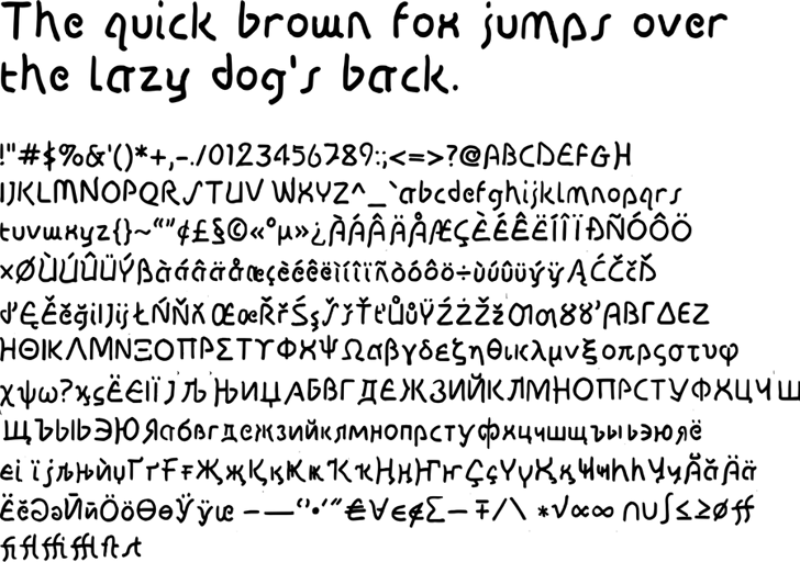 Disco-Grudge Font text screenshot