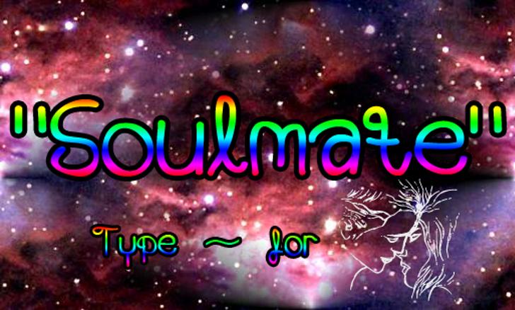 Soulmate Font screenshot fireworks