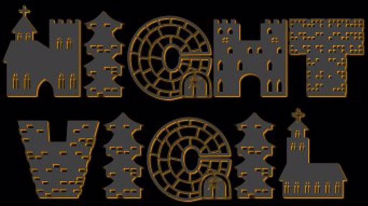Night Vigil Font wheel auto part