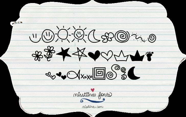 MTF Doodle Font handwriting design