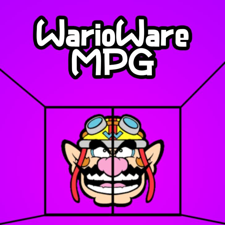 WarioWareMPG Font poster