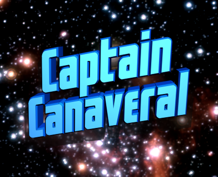 Captain Canaveral Font poster