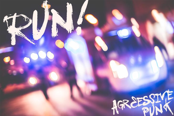 Vtks Love U Font light blur
