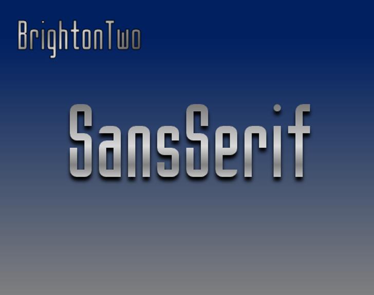 BrightonTwo Sans NBP Font screenshot typography