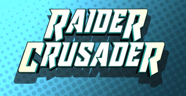 Raider Crusader Font screenshot design