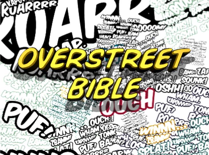 Overstreet Bible Font text poster