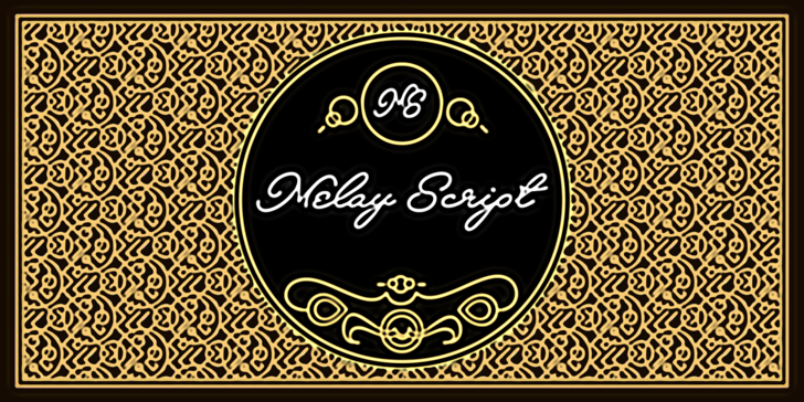 Melay Script PERSONAL USE Font design