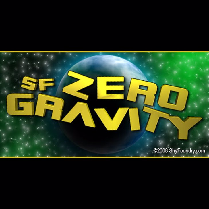 SF Zero Gravity Font screenshot