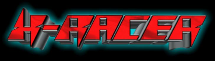 X-Racer Font screenshot geometry