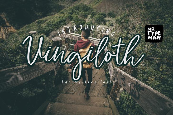 Vingiloth Font outdoor ground