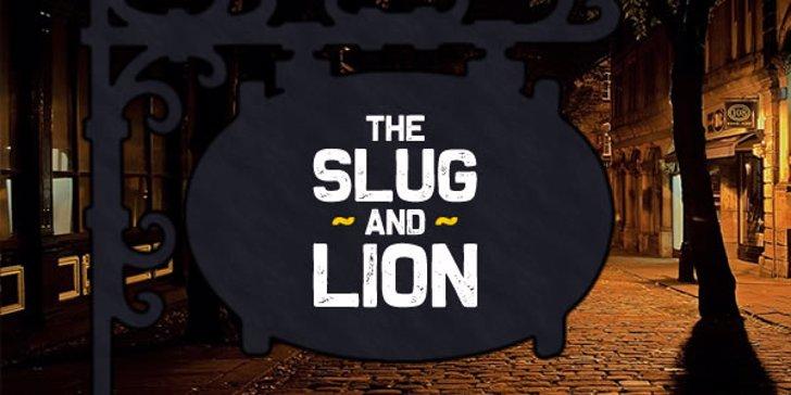 The Slug and Lion Font weapon design