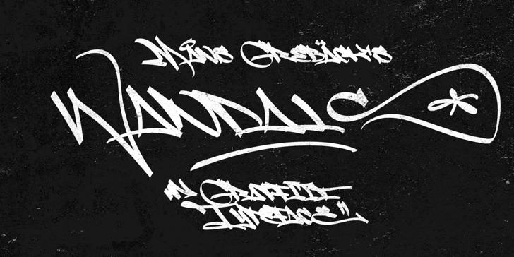 Fat Wandals PERSONAL USE Font handwriting design