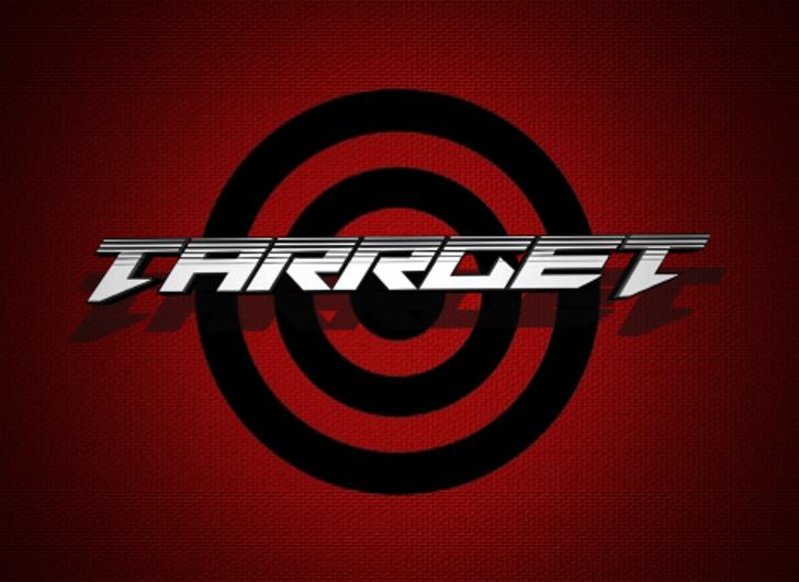 Tarrget Font design screenshot