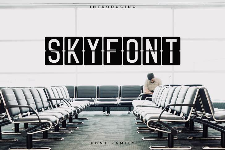 Skyfont furniture chair