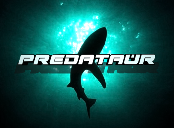 Predataur Font swimming