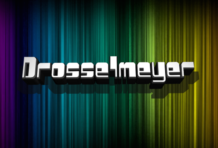 Drosselmeyer Font curtain screenshot