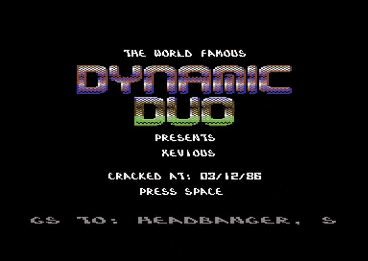 Dynamic Recompilation Font screenshot design