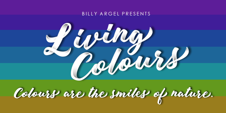 Living Colours Personal Use Font screenshot text