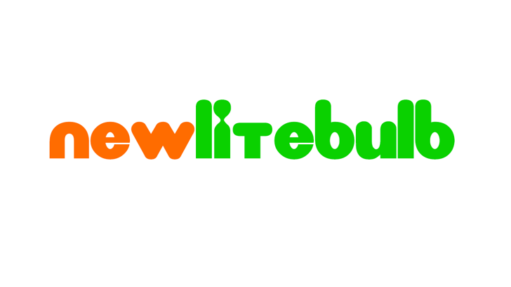 New LiteBulb Font design graphic